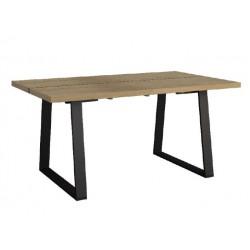 Stół z wsadami dokładanymi Mokka I 160