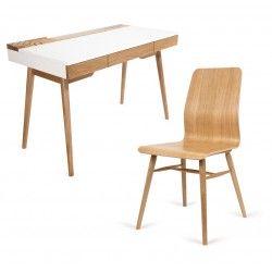 Zestaw biurko Omni+krzesło X-chair