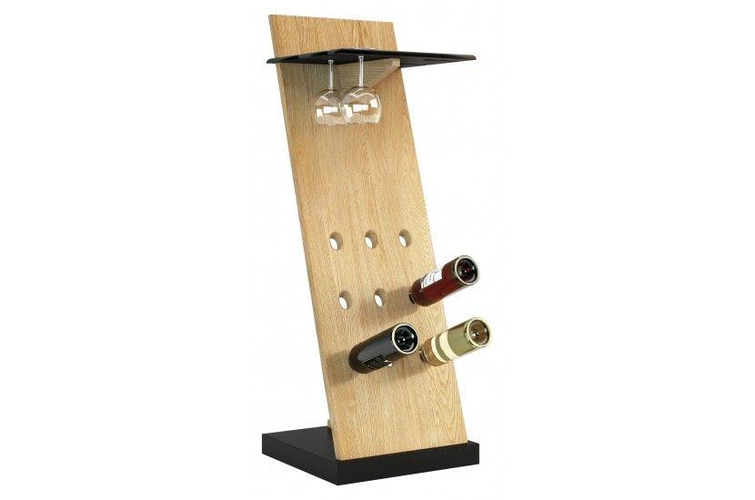 Corino stojak na wino i kieliszki