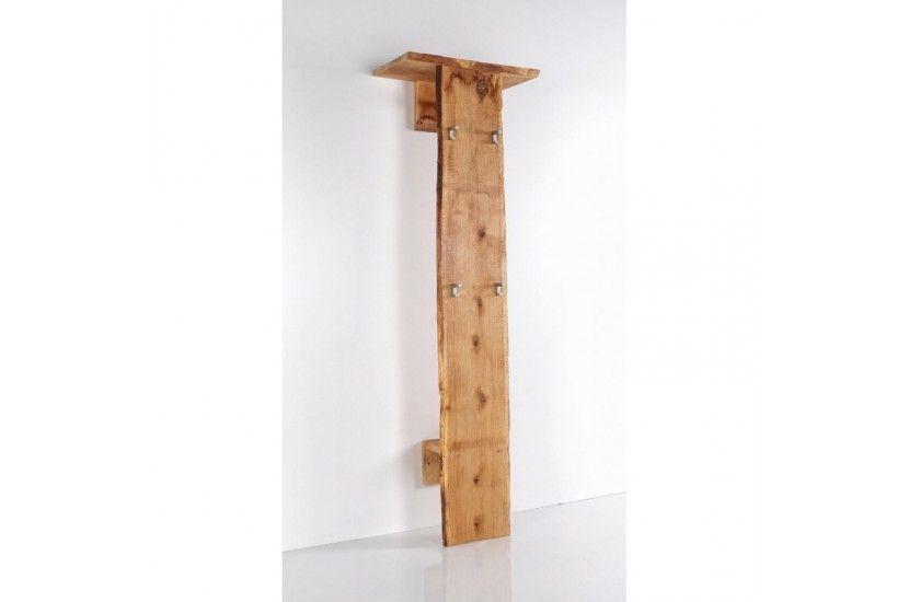 Woodline Panel mocowany do ściany zwieszakami, półkami idrążkiem