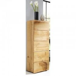 Woodline Szafka z szufladami wąska