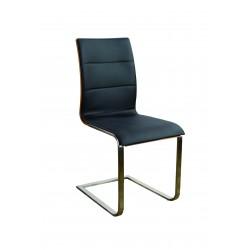 Krzesło Siena stelaż szczotkowany