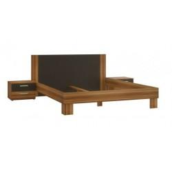 Stelaż łóżka + 2 szafki nocne Fuli HLNL161ST
