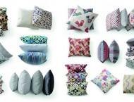 Pufy, poduszki